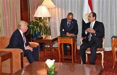 ترامب وقضايا العلاقات المصرية - الأمريكية