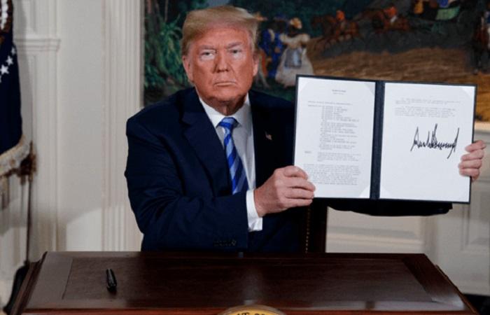 تداعيات الانسحاب الأمريكي من الاتفاق النووي الإيراني