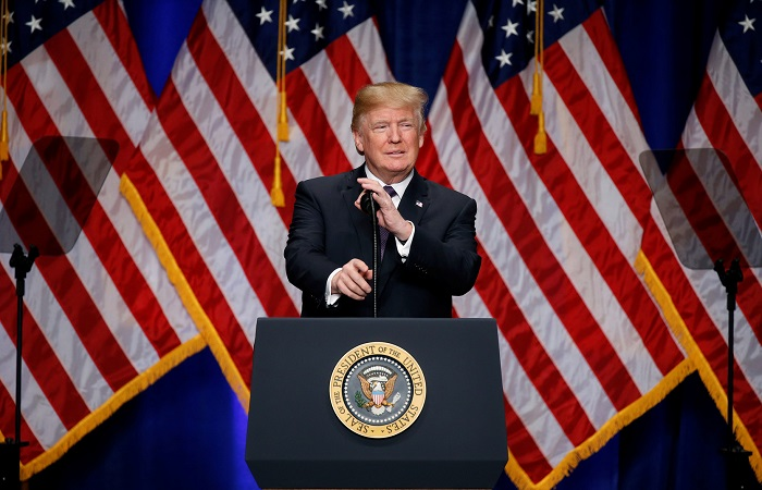جدل أمريكي حول عسكرة ترامب للفضاء الخارجي