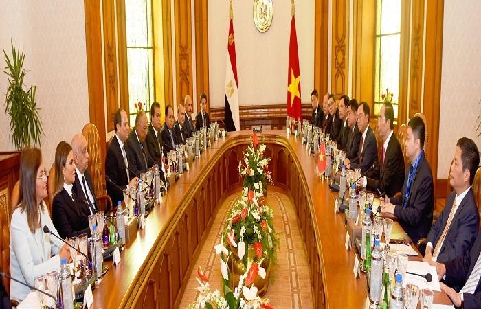الدوافع المتبادلة لتطوير العلاقات المصرية – الفيتنامية