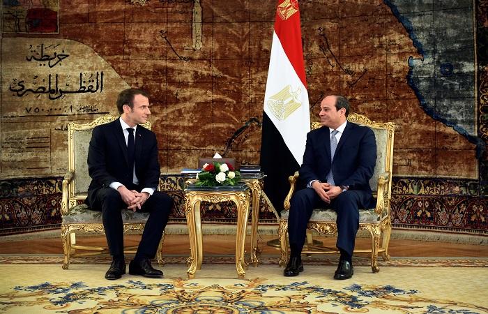 قراءة في أبعاد ونتائج زيارة الرئيس الفرنسي لمصر