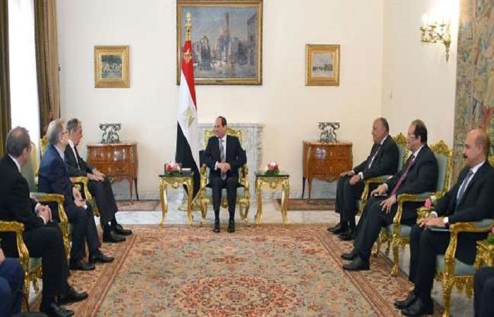 زيارة لافروف للقاهرة:  التوافق المصري – الروسي لمعالجة القضايا العربية والإقليمية