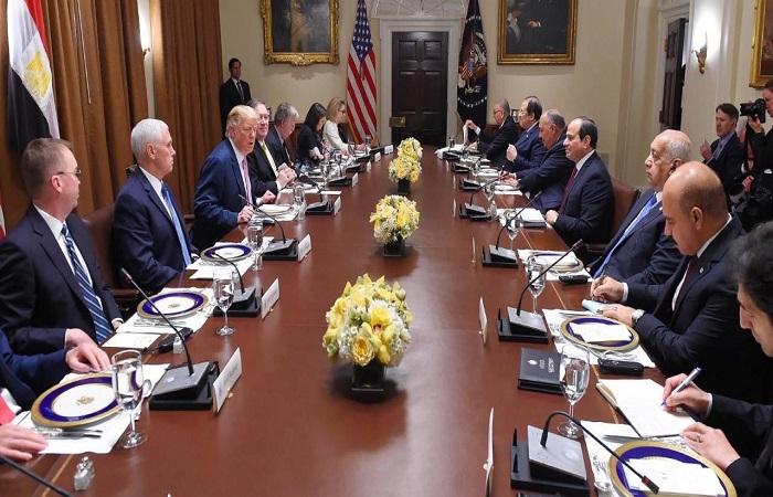 """زيارة الرئيس """"السيسي"""" لواشنطن:  العلاقات المصرية- الأمريكية.. الأبعاد والدلالات"""