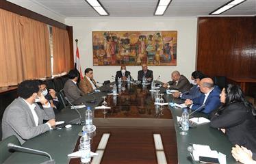 لقاء السفير بدر عبدالعاطي: أهم قضايا العلاقات المصرية الأوروبية والأفريقية